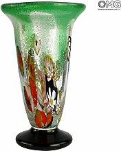 Trionfo Vase aus Muranoglas