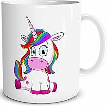 TRIOSK Einhorn Tasse mit Lustigem Unicorn Lady
