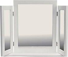 Triple weiß Schminktisch Spiegel (662401700)