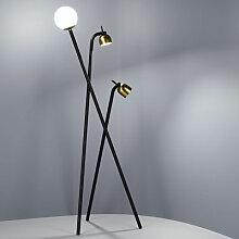Tripod Stehleuchte / LED - H 173 cm - Fontana Arte