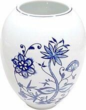 Triptis Zwiebelmuster Vase Tischvase Rundvase