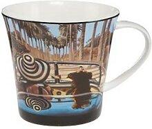 Trish Biddle Kaffeebecher Aloha Porzellan H. 9,5cm