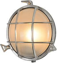 TRISTAN runde Industrie Wandlampe