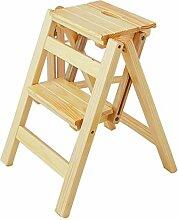 Tritthocker Leiter Hocker Kreative Massivholz