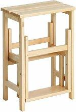 Tritthocker SUEGIÙ aus Buchenholz