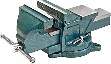 Triuso Parallel Schraubstock 100mm drehbar Backenbreite 100mm Schraubstock Parallel Schraubstock Spannmittel Werkbank