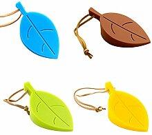 Trixes Silikon Keil Türstopper Set in 4 Farben