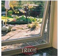 Trixie Schutzgitter für Fenster, eckig 65 × 16