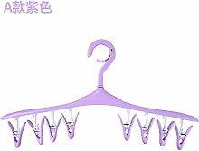 Trocknen Hosenbügel mit mehreren Clips Kunststoff