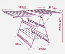 Trockner Wäscheständer Indoor Aluminiumlegierung