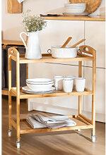 Troem Bambus Küchenwagen Bambus Sklum
