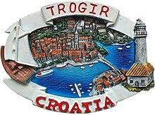 Trogir Kroatien 3D Kühlschrank Magnet Reise