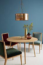 Trommel-Leuchte mit oxidiertem Design - Brown