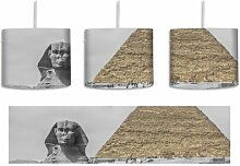 Trommel-Pendelleuchte 1-flammig Sphinx vor großer
