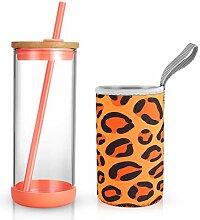 Tronco 590 ml Glas Tumbler Glas Wasserflasche
