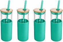 Tronco Glas-Trinkflasche, 680 ml, BPA-frei