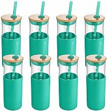 Tronco Glas-Trinkflasche, 680 ml, mit