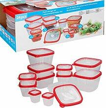 TronicXL Frischhaltedose Set 12 Dosen + Deckel mit