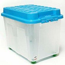 TronicXL Rollbox XXL 75 Liter Aufbewahrungsbox mit