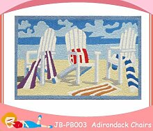 Tropical Beach Handtuch Adirondack Stuhl Accent