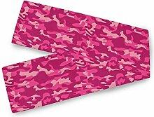 TropicalLife BGIFT Abstrakte rosa Camouflage Camo