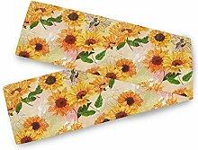 TropicalLife BGIFT Floral Sunflower Pattern