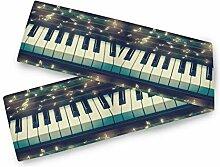 TropicalLife BGIFT Galaxy Musik Note Klavier