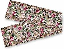 TropicalLife BGIFT Leopard Print Rose Blume