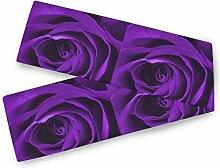 TropicalLife BGIFT Rose Flower Floral Tischläufer