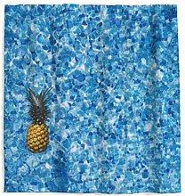 Tropische Ananas Duschvorhang mit