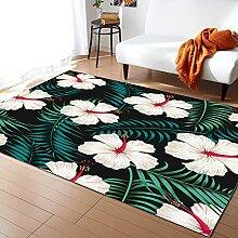 Tropische Pflanze Blumenblätter Wohnzimmer