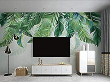 Tropische Pflanze Green Leaves Wallpaper Tapete