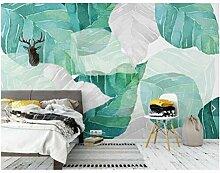Tropische tapete fototapete für wohnzimmer