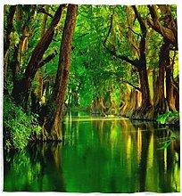 Tropischer Landschaft Duschvorhang mit