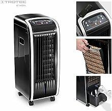 TROTEC Aircooler / mobiles Klimagerät PAE 20 3 in 1 - Gerät: Luftkühler, Ventilator, Luftbefeuchter, und Lufterfrischer (3 Gebläsestufen, Timerfunktion, inkl. Fernbedienung, Naturwind-Modus uvm.)