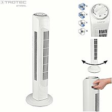 TROTEC Turmventilator TVE 29 T | Tower-Ventilator | Automatische 90°-Oszillation | 3 Geschwindigskeitsstufen | 45 Watt Leistung