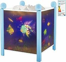 Trousselier Magische Laterne Regenbogenfisch , blau