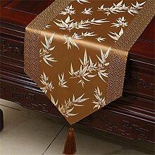 TRRE- Chinesisch Klassische Bambus Blätter Tuch