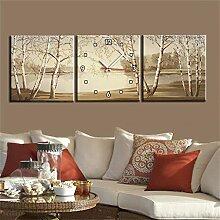TRRE-Modern Style Leinwand Gemälde Am See Bäume
