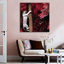 TRRE-Modern Style Leinwand Malerei Wohnzimmer Rot
