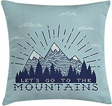 Trsdshorts Quote Throw Pillow Cushion Cover,