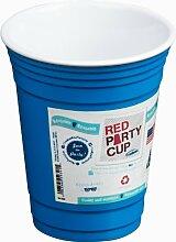 Trudeau Partybecher, 473 ml, Blau