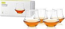 True 9947 Whiskey Glasses, Set of 4 by