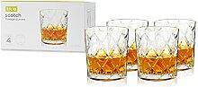 True 9949 Scotch Glasses by, Set of 4