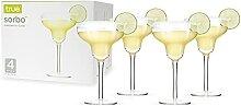 True Sorbo Margarita-Glas, 284 ml, transparen