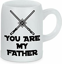 True Statements Bierkrug You are my father -