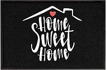True Statements Fussmatte Home sweet home -