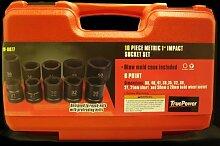 TruePower ber11772,5cm Metrisches Heavy Duty Impact Socket Set von TruePower Werkzeuge