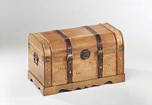 Truhe Holzkiste Schatzkiste Piratenkiste Schmuckkasten Möbel Antik Geschenk Holz