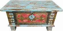 Truhe Kiste Holztruhe Box 80 Vintage Massiv Shabby